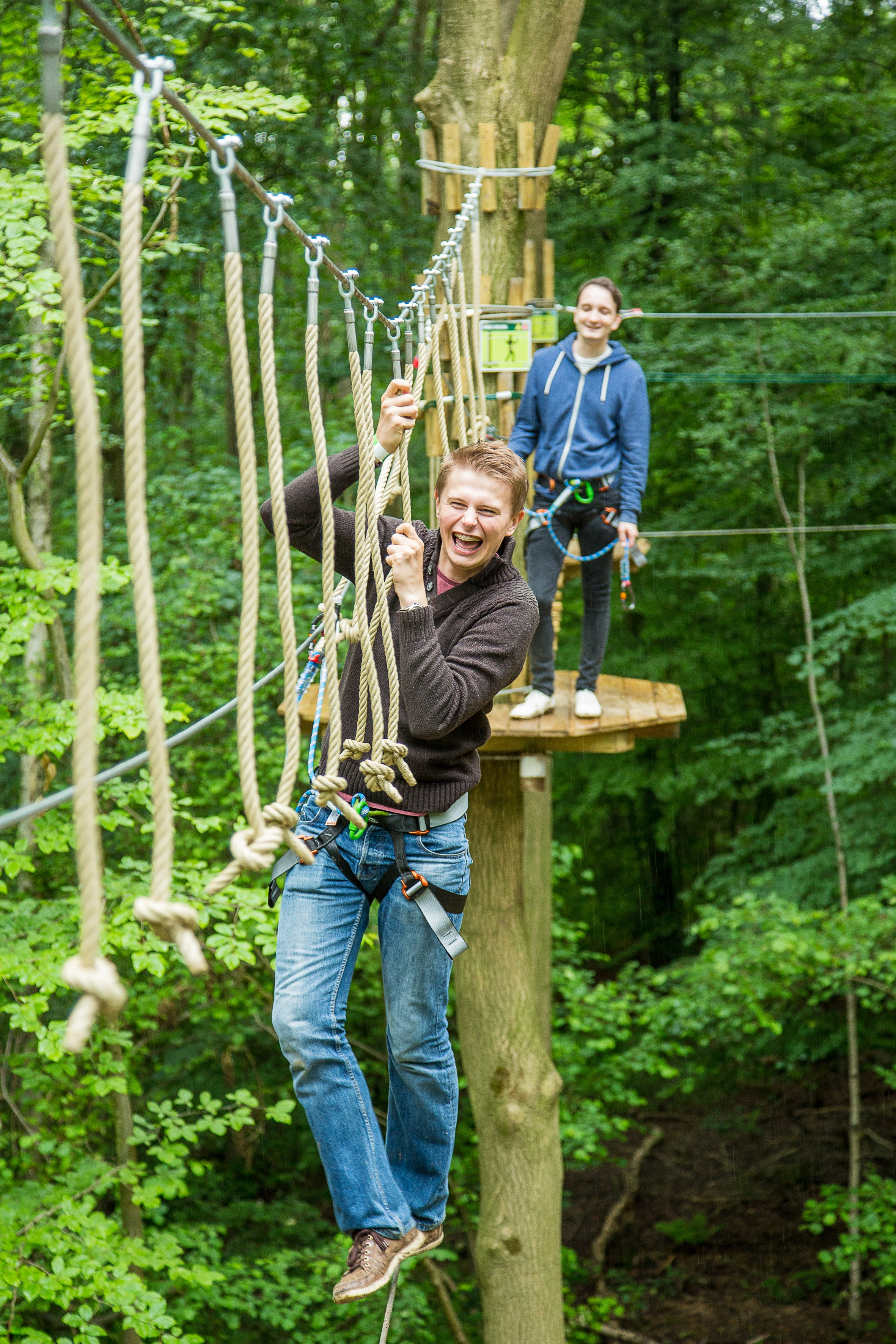 Brand New Go Ape Tree Top Adventure At Chessington World Of Adventures Resort!