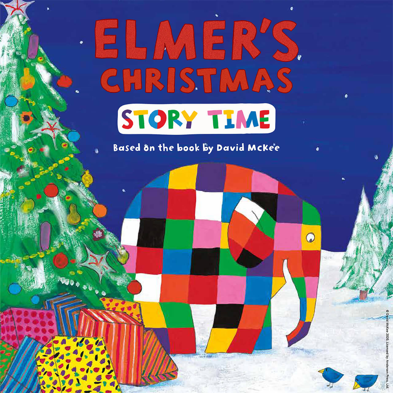 Elmers Christmas Story Time